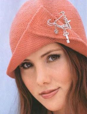 Женские шапочки своими руками